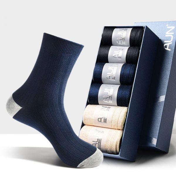 【6雙】男士雙針織商務除臭襪 T158 AUN,除臭襪,腳臭,抑菌襪,抗菌襪,襪子,男襪,除臭襪推薦,中筒襪,機能襪,運動襪,休閒襪,紳士襪,隱形襪,船型襪,短襪,防臭襪
