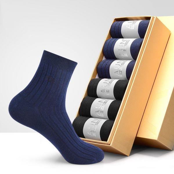 【6雙】男士夏季薄款總裁襪 ZC102 AUN,除臭襪,腳臭,抑菌襪,抗菌襪,襪子,男襪,除臭襪推薦,中筒襪,機能襪,運動襪,休閒襪,紳士襪,隱形襪,船型襪,短襪,防臭襪