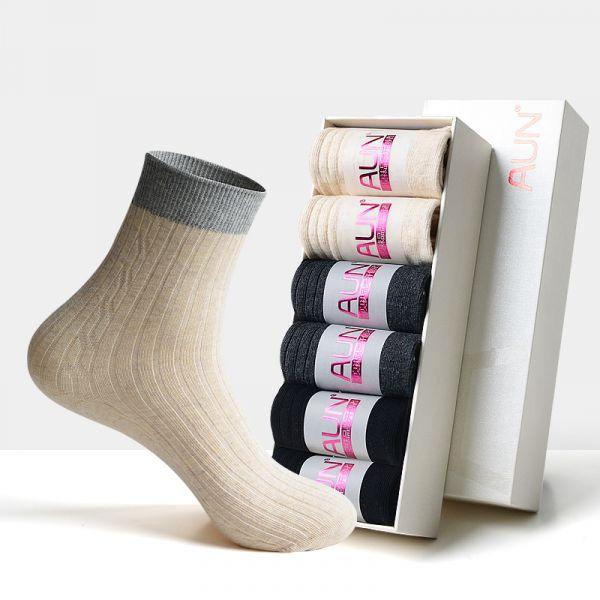 【6雙】女士雙針織秋冬除臭襪 H210 AUN,除臭襪,消滅腳臭,腳臭,襪子,女襪,除臭襪推薦,中筒襪,機能襪,休閒襪,船型襪,防臭襪