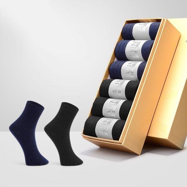 【6雙】男士頂級商務總裁襪 ZC010 AUN,除臭襪,腳臭,抑菌襪,抗菌襪,襪子,男襪,除臭襪推薦,中筒襪,機能襪,運動襪,休閒襪,紳士襪,隱形襪,船型襪,短襪,防臭襪