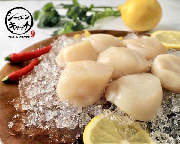 北海道生食級干貝 1000g 北海道生食級干貝,海鮮, 海產, 海鮮宅配, 海鮮市場, 生鮮宅配, 海產購物網, 烤肉食材,SEA N CATCH, 隆泰物產