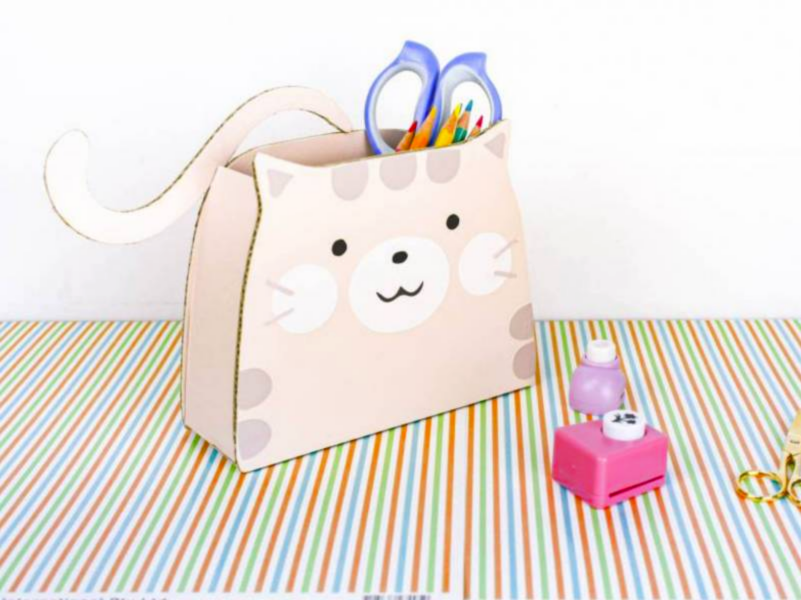 Warming friend Kitten Box