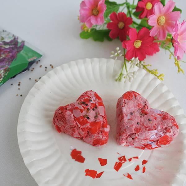 花示愛─種子愛心紙磚