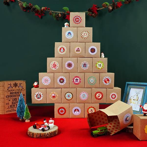 倒數開始~聖誕倒數樹