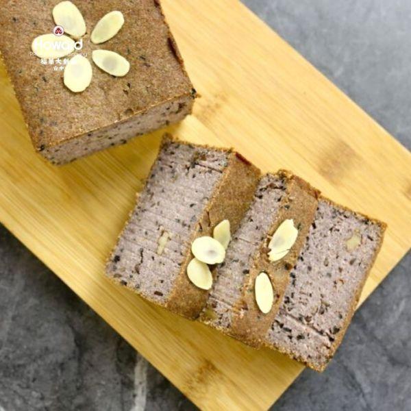 黑醋栗吐司[無麩質][奶素] 生酮麵包,生酮吐司,無麩質麵包,無麩質吐司