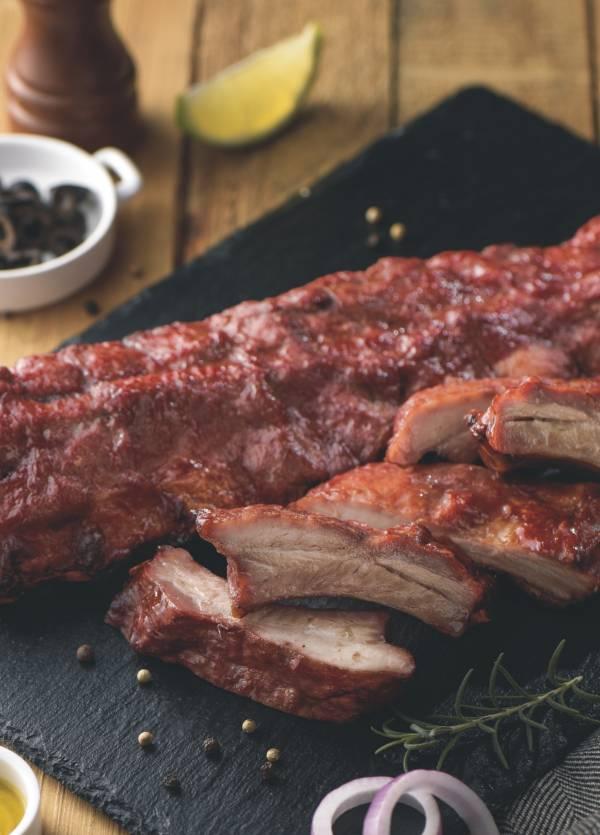 |TJW豚角王|BBQ炙燒肋排 BBQ炙燒肋排,豬肋排食譜,美式烤肋排豬肋排2021必買推薦,氣炸鍋