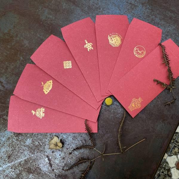 燙金薪傳瑪芬紅包袋 紅包,農曆,過年,壓歲錢,燙金,薪傳馬芬紙