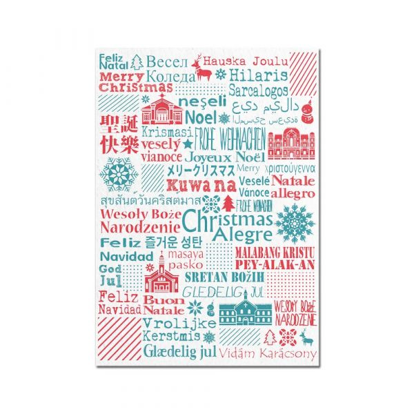 明信片-聖誕系列 聖誕節臺南,明信片,旅行紀念