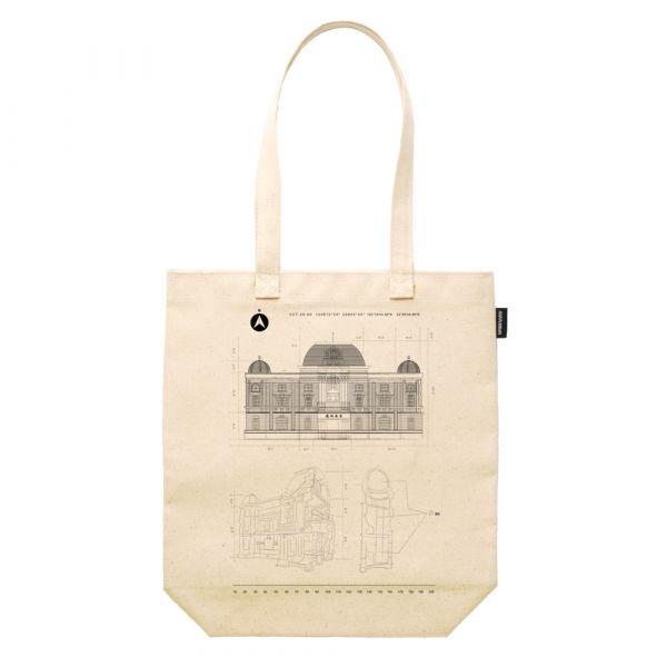 寫實建築系列 合成帆布12盎司重磅托特包 臺南包包,12昂斯帆布材質