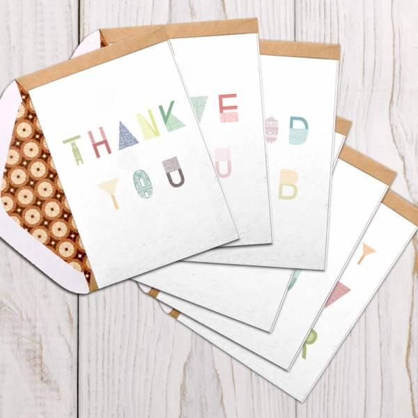 英文字X花磚賀卡系列 花磚,卡片,羊毛紙,母親節,新年賀卡,萬用卡,聖誕節,英文單字