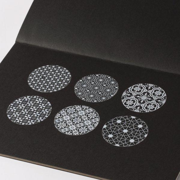 花磚系列 - 6款透明貼紙 透明貼紙,貼紙,花磚