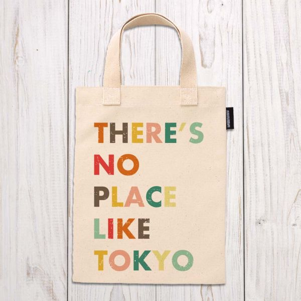 東京系列 - 東京真美 - 手提袋 臺南,合成帆布,手提袋,布包,UV印刷,原印臺南,HAND BAG,日本,東京,英文字