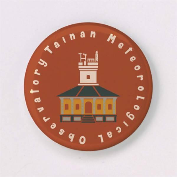 胸章-台南彩色建築系列(小 / 2入一組) 徽章,胸章,別針,台南,古蹟,建築