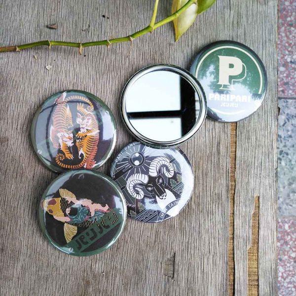 | Paripari apt. 聯名款 | 金屬鏡子 小物,禮物,紀念品,臺南,Paripari,聯名款