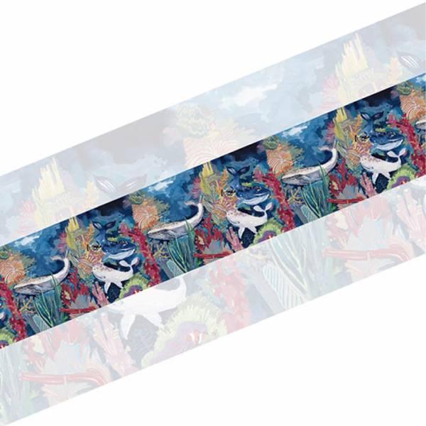 沉默的共振 - 聲息 - 寬版紙膠帶 沉默的共振,閻孟潁,藝術家,藝術創作,臺南,紙膠帶,日本和紙,手帳