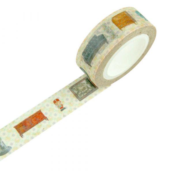 時間軸系列 - 關於客廳 - 紙膠帶 紙膠帶,手帳,臺南,禮物包裝,日本和紙,復古家具,古董