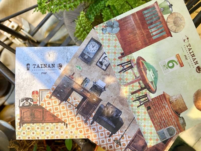 明信片-時間軸系列 臺南,明信片,旅行紀念時