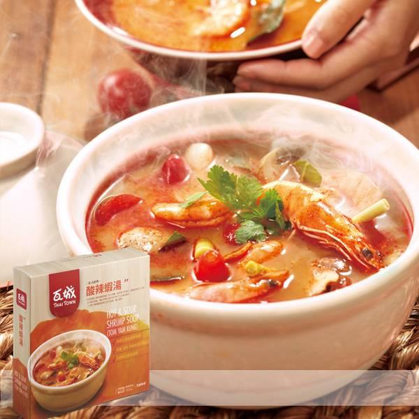 ◆泰式經典◆酸辣蝦湯(3-4人份)