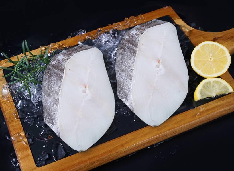格陵蘭厚切大鱈魚片(帶骨)450gx2(1組)