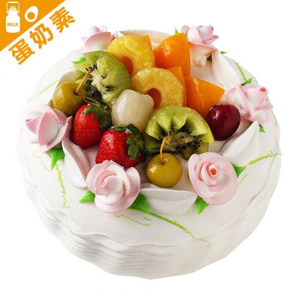 玫瑰絮語 6-18吋 蛋糕、生日蛋糕、生日、好吃蛋糕、基隆蛋糕、水果蛋糕
