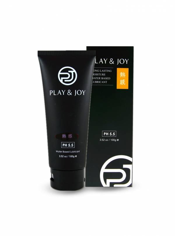 [團購] play & joy 熱感水性醫療級潤滑液