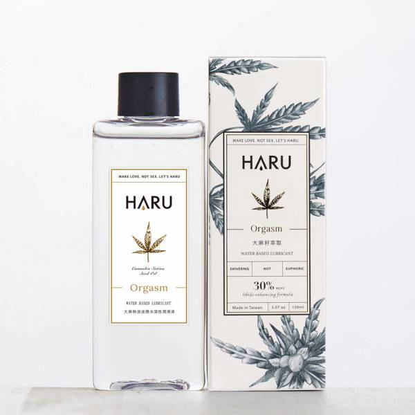 HARU 大麻熱浪迷情熱感潤滑液