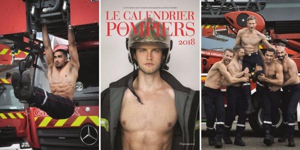 [限量團購] 2018法國消防員月曆
