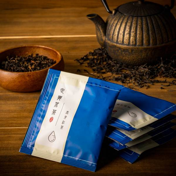 【春芽紅茶茶包禮盒 30入/盒 】