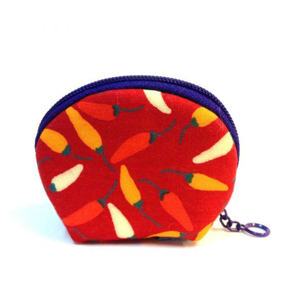 錢母小豆包 (小辣椒) 小零錢包,隨身小包,錢包,零錢包,小包,專屬名字錢包,卡片包