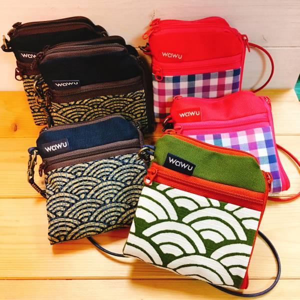 夾心短夾 (客訂花色) (附繩) 日布 接單生產* Wallet,カード,お釣り入れ,小銭入れ,細かい入れ,二つ折り財布,卡片包,夾心吐司包,財布,錢包,錢夾