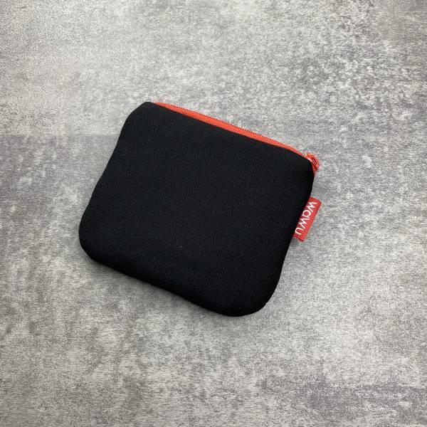小零錢包 (黑色帆布) 接單生產* 小零錢包,隨身小包,錢包,零錢包,小包,專屬名字錢包,卡片包