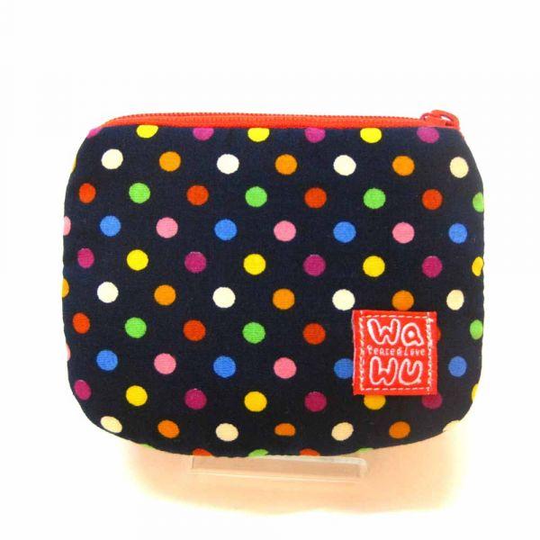 小零錢包 (大點藍) 接單生產* 小零錢包,隨身小包,錢包,零錢包,小包,專屬名字錢包,卡片包