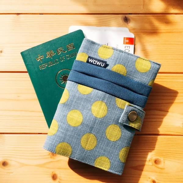 護照套+扣帶 (紳士圓餅)  接單生產* 護照套,passportcase,パスポートケース
