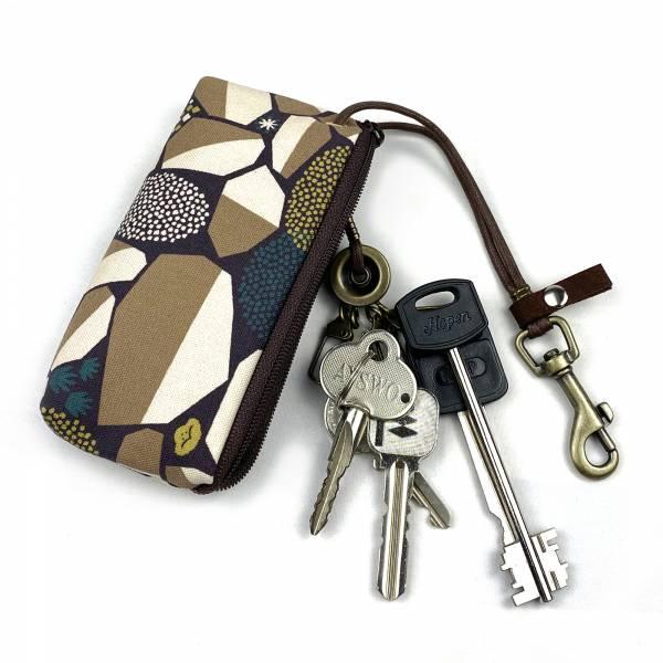 拉鍊鑰匙包 (沃土) 接單生產* 鑰匙包,keyholder,鑰匙收納,キーケース,kyecase,隨身小包,客製化