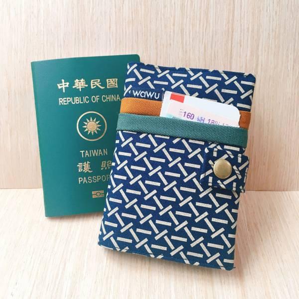 護照套+扣帶 (織紋)  接單生產* 護照套,passportcase,パスポートケース