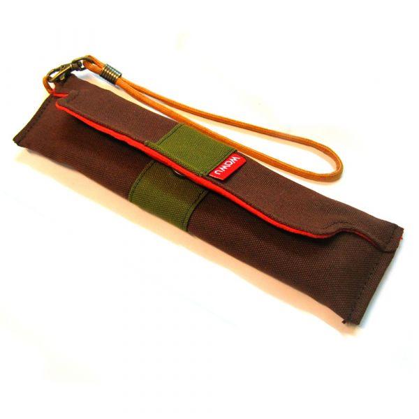筆袋/筷套 (抹茶) (附木製筷子和湯匙) 接單生產* 筆袋,餐具袋,,chopsticks,箸,箸袋