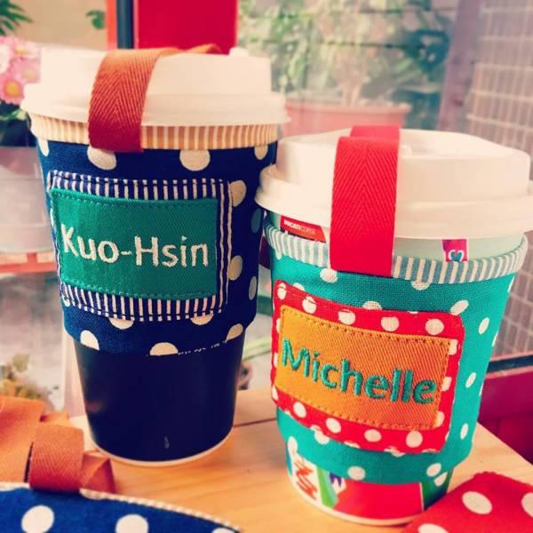 娃果環保杯套 (多色) 手搖杯套袋 接單生產* 半斤袋,環保袋,購物袋, ShoppingBag, エコバッグ