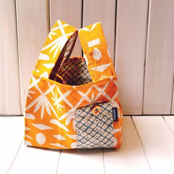 半斤購物袋 (萱草/雙面布) 日布限量訂製款* 半斤袋,環保袋,購物袋, ShoppingBag, エコバッグ