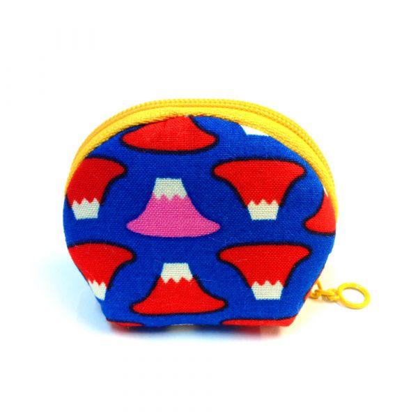 錢母小豆包 (富士山) 小零錢包,隨身小包,錢包,零錢包,小包,專屬名字錢包,卡片包
