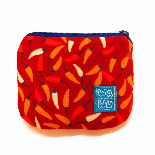 小零錢包 (小辣椒) 接單生產* 小零錢包,隨身小包,錢包,零錢包,小包,專屬名字錢包,卡片包