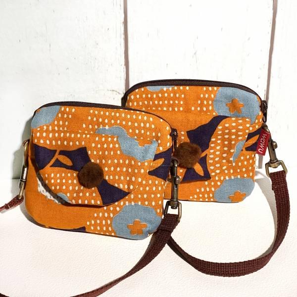 手腕方便包 (幾何橘) (附繩) 接單生產* Wallet,カード,お釣り入れ,小銭入れ,細かい入れ,二つ折り財布,卡片包,財布,錢包,錢夾