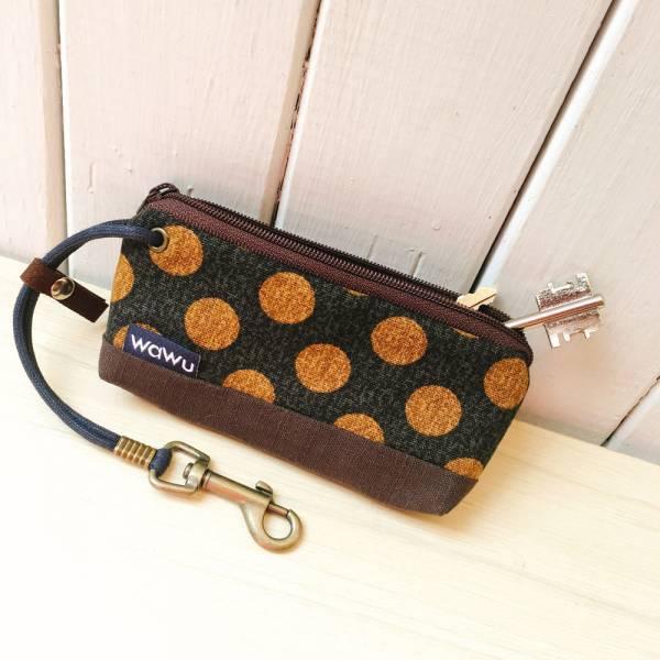 拉鍊鑰匙包 (日和丸) 接單生產* 鑰匙包,keyholder,鑰匙收納,キーケース,kyecase,隨身小包,客製化