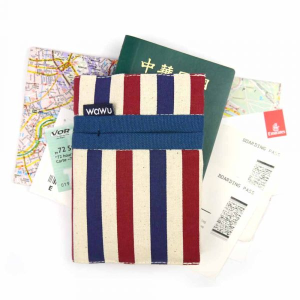 護照套 (條紋)  接單生產* 護照套,passportcase,パスポートケース