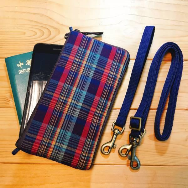 多功手機包 Plus & Max (彩格) 接單生產* 手機袋,phonebag,携帯カバー,手機包,隨身小包,手工包,包包,Purses,かばん,カバン,鞄,手作包,布包 ,handmadebag,バッグ,ポーチ,布小物,布小物雑貨