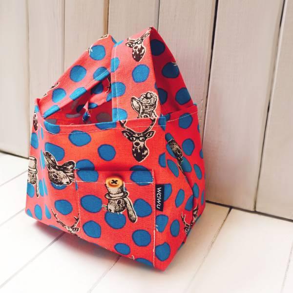 半斤購物袋 (愛麗絲派對) 接單生產* 半斤袋,環保袋,購物袋, ShoppingBag, エコバッグ