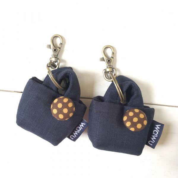 小包造型鑰匙圈吊飾 (客訂花色) 接單生產* 吊飾,禮物,禮盒包裝,台灣伴手禮,鑰匙圈吊飾,手作伴手禮,小禮物