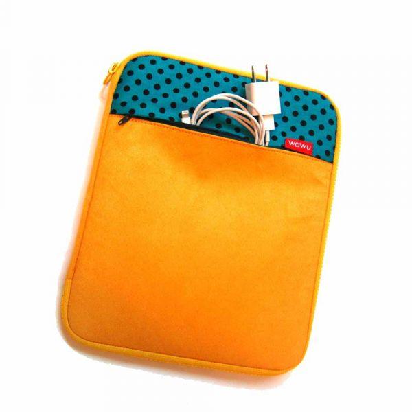 10.9 吋 iPad, iPad Air 平板, 閱讀器收納包 (檸檬黃) 平板收納包,iPad,iPadair,平板電腦包,閱讀器收納,閱讀器收納包,平板收納