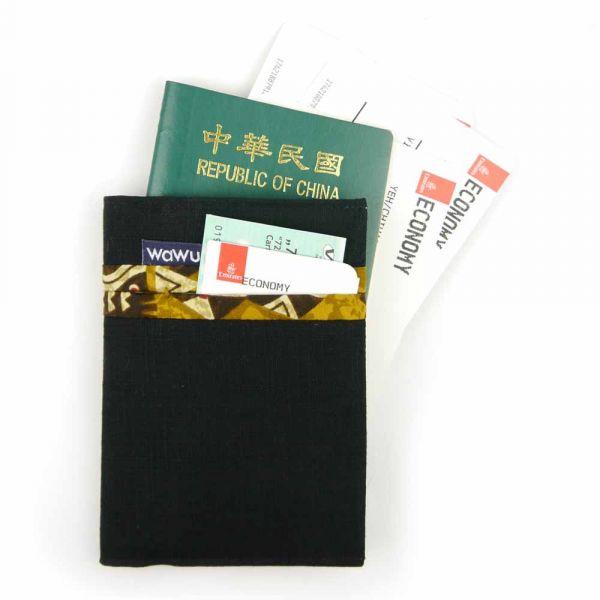 護照套 (黑)  接單生產* 護照套,passportcase,パスポートケース