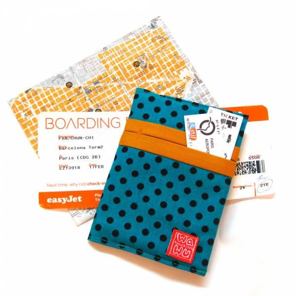 護照套 (奇異果)  接單生產* 護照套,passportcase,パスポートケース