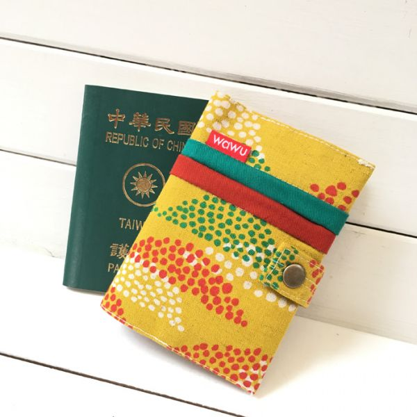 護照套 (日布香料咖哩)  接單生產* 護照套,passportcase,パスポートケース